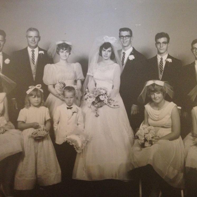 My Grandma Susan and Grandpa Jacks Wedding.